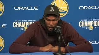 Kevin Durant Postgame Interview / GS Warriors vs LA Clippers / Feb 22
