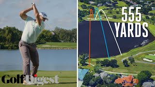 Long Drive Champion Tries to Hit the Green on a 555-Yard Par 5 at Bay Hill   Golf Digest