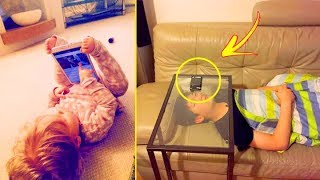 Kids Surprised Their Parents With Their Genius Inventions 「 funny photos 」