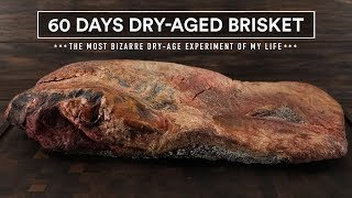 60 Days DRY-AGED BRISKET Experiment!