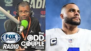 Rob Parker Says Dak Prescott Is CRAZY to Turn Down $30 Million From the Cowboys