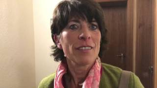 Elisabeth Pfeffer nach der Bürgermeister-Stichwahl in Zwiesel