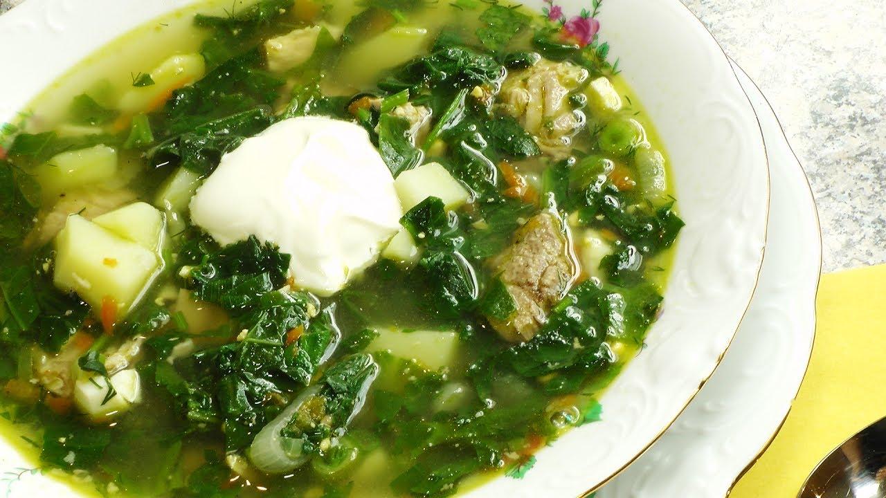 Как приготовить щавелевый суп пошаговый