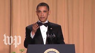 Behind the speech: A joke that didn't land. For a good reason.
