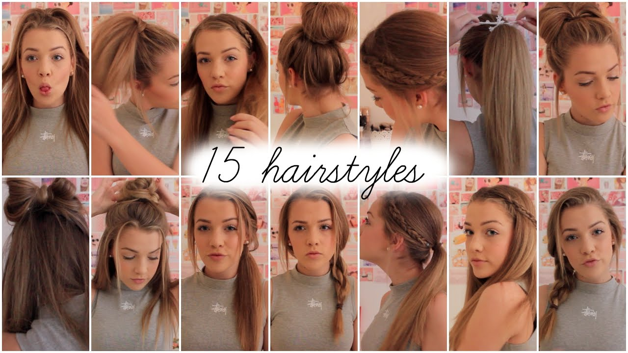 Модные причёски на 15 лет
