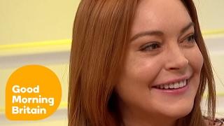 Lindsay Lohan on Converting to Islam   Good Morning Britain