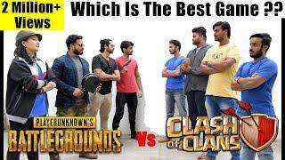 Clash Of Clans Vs Pubg - Fans Forever   Dekhte Rahoo