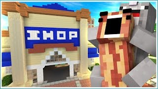 IHOP Hide and Seek | BACON AND WAFFLES!