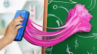13 Weird Ways To Sneak Edible Slimes Into Class / School Pranks And Life Hacks