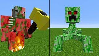 Mutant Creatures Command! Minecraft Adventskalender #10