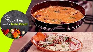 Cook It Up With Tarla Dalal - Ep 7 - Som Tam Salad, Thai Curry and Fruits in Creamy Coconut Sauce