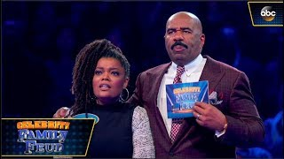 Yvette Nicole Brown Plays Fast Money - Celebrity Family Feud 3x02