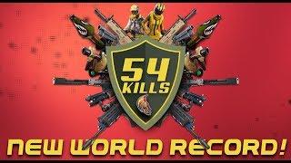 NEW WORLD RECORD 54 KILLS! (Fortnite Battle Royale)