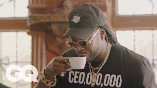 2 Chainz Drinks $600 Coffee (Made from Cat Poop) | Most Expensivest Shit | GQ