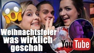 YouTube WEIHNACHTSFEIER I So FEIERN YOUTUBER I DAILYVLOG VLOGMAS #12 I Mellis Blog