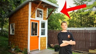 13-Yr-Old Boy Builds Own Home For $1,500