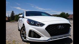 2018 Hyundai Sonata Limited 2.0T First Drive