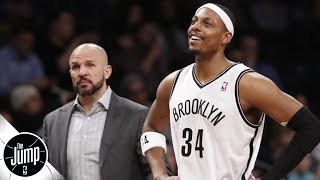 Paul Pierce says Jason Kidd didn't draw up plays early in first year as Nets' coach | The Jump