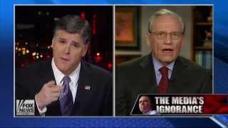 Bob Woodward Lectures Sean Hannity on Journalism