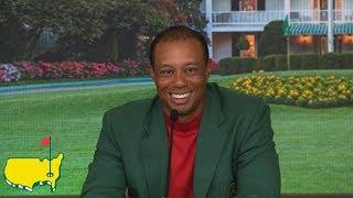 Tiger Woods Winning Interview
