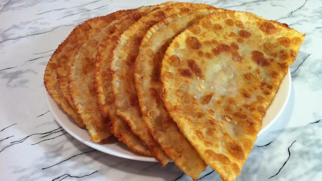 Чебуреки рецепт с пошаговый очень вкусные