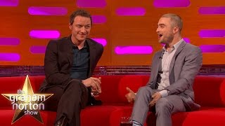 Daniel Radcliffe and James McAvoy Talk About Their Horrible Fans - The Graham Norton Show