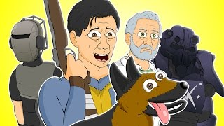 ♪ FALLOUT 4 THE MUSICAL -  Animated Parody Song