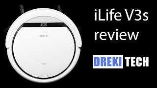 iLife V3s Robot Vacuum Review