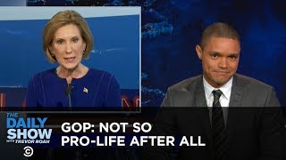Not So Pro-Life After All: The Daily Show