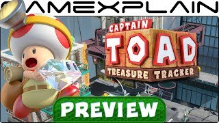 How Are the New Mario Odyssey Stages in Captain Toad: Treasure Tracker Switch? Hands-On Preview