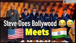 Michael Jackson Meets Bollywood | Steve Harvey | Shraey Khanna | Showtime at Apollo