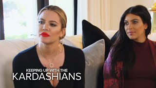 "KUWTK | ""Hollywood Medium"" Reads Kardashian Sisters | E!"