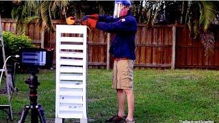 Red Hot Cannonball Vs Styrofoam Tower