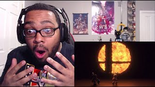 Super Smash Bros. For Nintendo Switch Trailer REACTION! (2018)