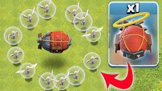 """HOLY BLIMP SIEGE TROLL """"Clash Of Clans"""" JUST GO WITH IT...."""