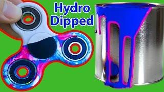 1000MPH FIDGET SPINNER (HYDRO DIP!)