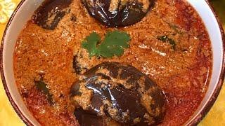 Hyderabadi Bagara Baingan Recipe | How to make Masala Brinjal Curry | Vankaya Masala curry