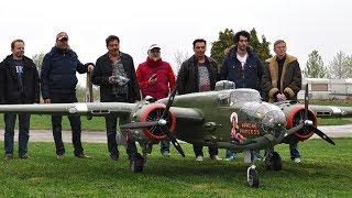20ft. B-25 Mitchel 2x400cc Moki - Maiden
