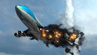 Air Force One Airplane crash