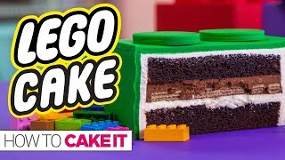 GIANT LEGO CAKE & Super Exciting Announcement! | How To Cake It