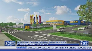 Public invited to meeting on incoming IKEA in Cary