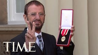 Prince William Just Knighted Ringo Starr And He Has The Perfect Plan For His New Medal | TIME