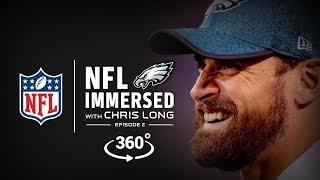 The Waterboys Conquer Kili ⛰️ | Chris Long Ep. 2 | NFL Immersed | 360° Video
