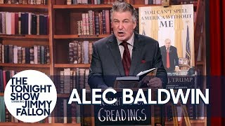 Alec Baldwin Gives a Reading of His Parody Donald Trump Memoir