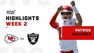 Patrick Mahomes POPS OFF for 4 TDs & 443 Yards!   NFL 2019 Highlights