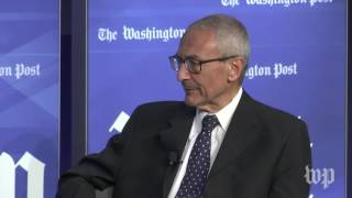 John Podesta: 'I see no sign' that Donald Trump will be impeached