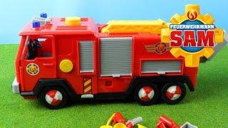 Feuerwehrmann Sam Spielzeug - Feuerwehr-Station und Deluxe Jupiter mit  Figuren | Werbung
