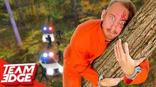 Handcuffed Prisoner Escape Challenge!   Escape the Forest!!