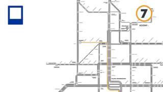 Nowy układ tras tramwajów
