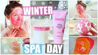 ❄DIY Winter Spa Day! HolidAMY | Day 7❄